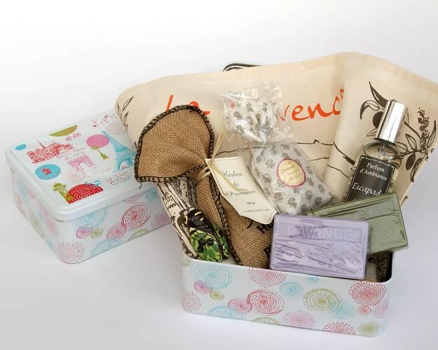 Panier Cadeau Provence : Coffret cadeau vente en ligne par provence ping